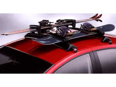 how to put snowboards on car